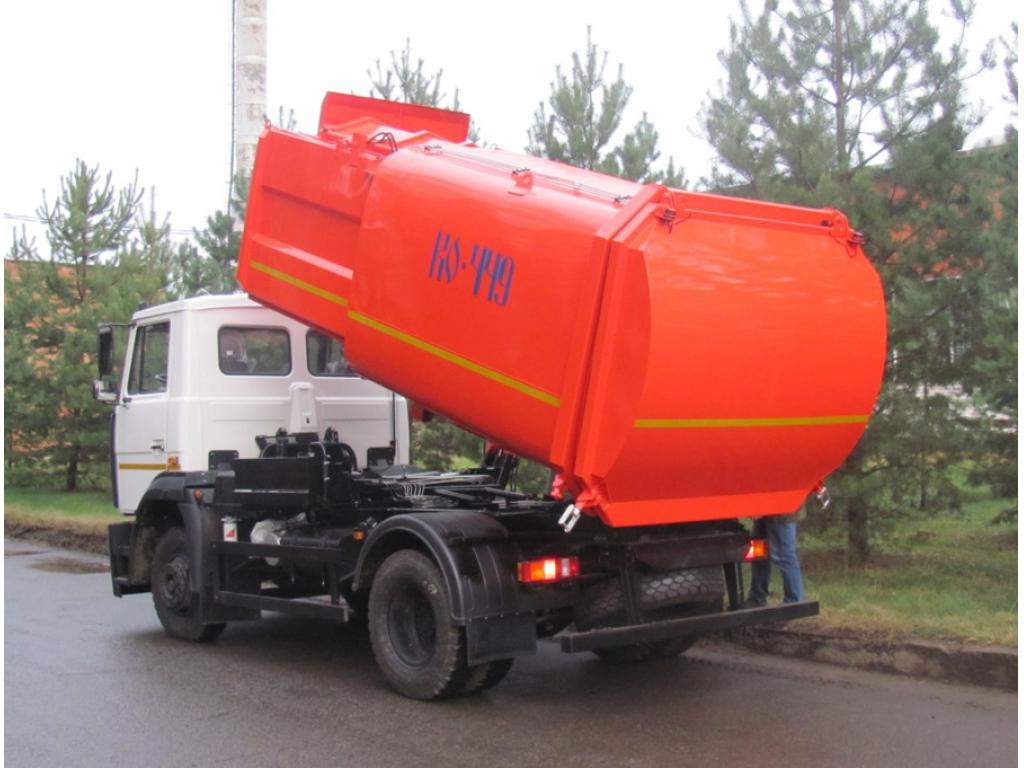 Мусоровоз с боковой загрузкой КО-449-41