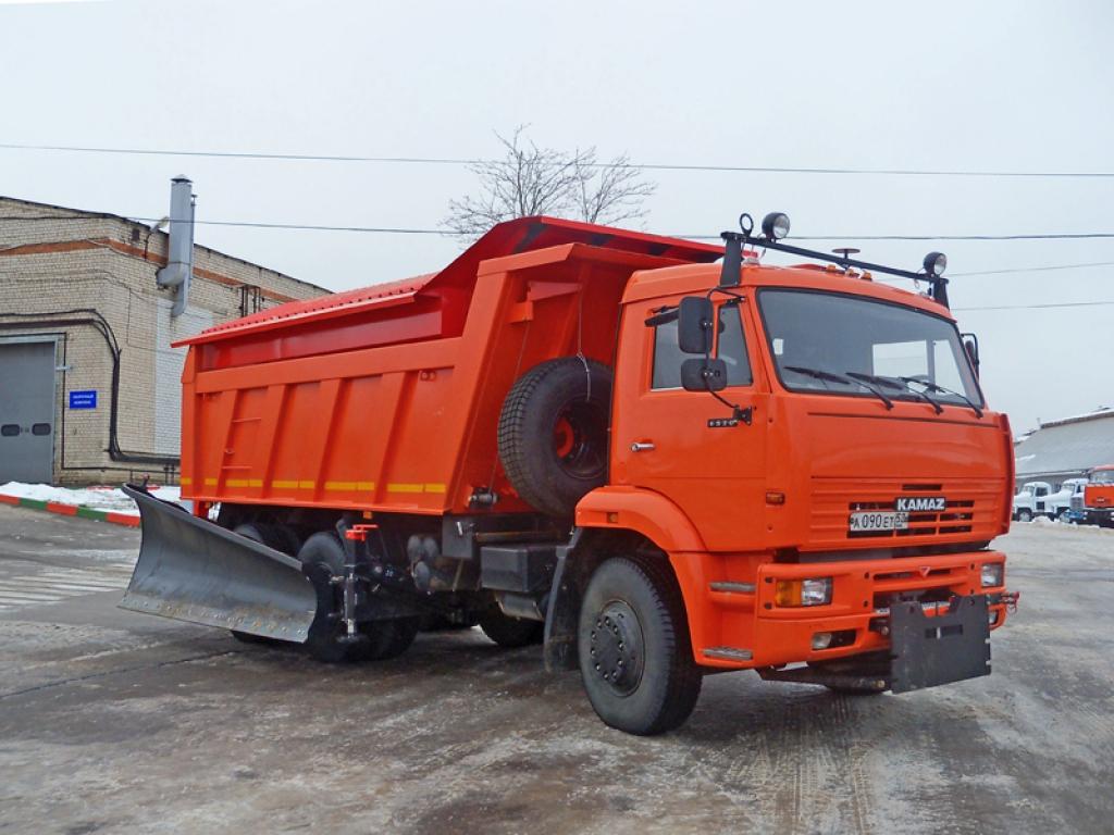 Комбинированная дорожная машина КО-829С1-02