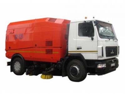 Подметально-уборочная машина КО-326-05