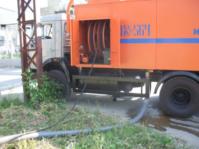 Каналоочистительная машина КО-564
