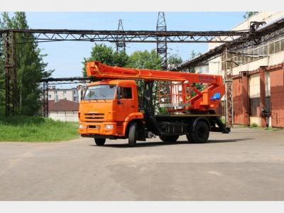 ПСС-141.29Э на шасси КамАЗ-43253 (4х2)