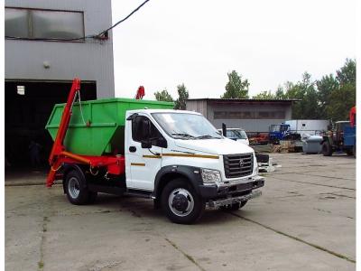 Бункеровоз на шасси ГАЗ-C41R13 NEXT